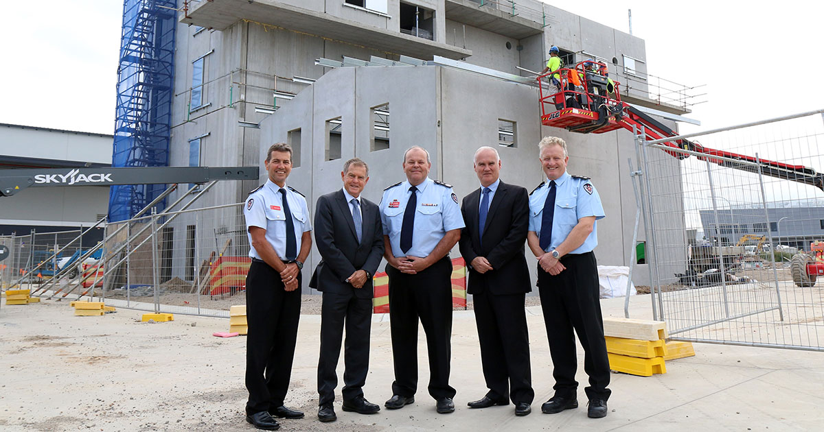 Fire Academy NSW Training Centre announcement
