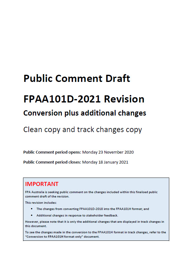 PCD - FPAA101D-2021 Revision (cover image)